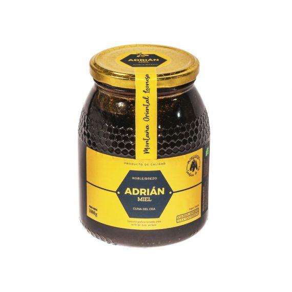 miel de roble y brezo tarro 1 kg